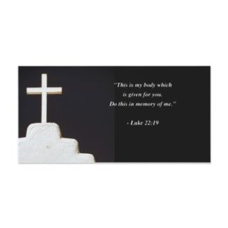 MATTHEW 2238 Bible Verse Custom Photo Card
