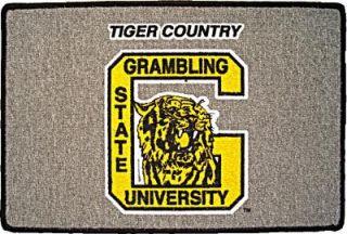 Grambling Go Tigers Welcome Door Mat Rug New