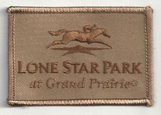 Lone Star Park Grand Prairie Texas Horse Racing Patch