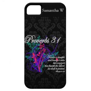 Proverbs 31 Bible Christian Womens iPhone 5 Cases