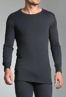 Heat Holders Mens Thermal Tog Long Sleeve Vest Charcoal