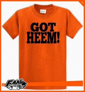 Got HEEM Brian Wilson Strikeout T Shirt Orange SF San Francisco Giants