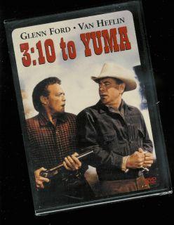 10 to Yuma 1957 Version DVD Van Heflin Glenn Ford New