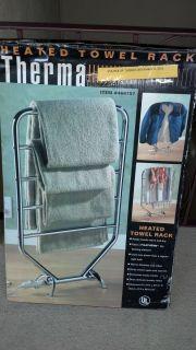 Therma heated towel rack