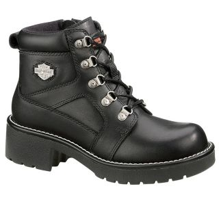 Brand New Harley Davidson Womens Express Lane Boot Size 9 5 in Black