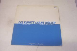 Lee Konitz Hans Koller LP Japan Vogue 10 Trax
