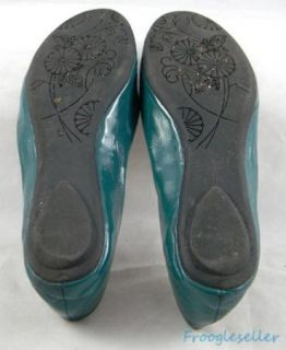 Steve Madden Womens Heaven Flats Loafers Slip on Shoes 8 M Teal