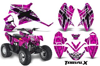 Polaris Outlaw 90 Graphics Kit Decals TXWP