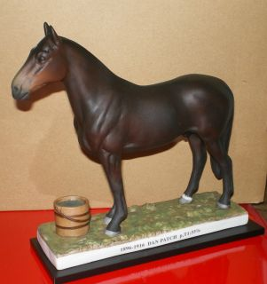 Harness Horse Racing Statue Dan Patch