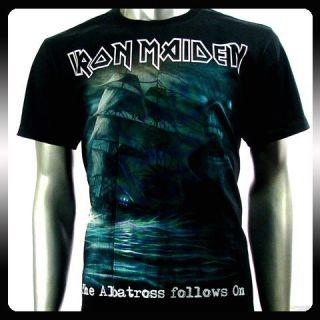 Iron Maiden Heavy Metal Rock Punk T Shirt Sz XXL 2XL Biker Rider IR19