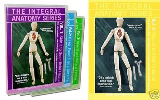 Integral Anatomy 4 DVD Dissection Series w Gil Hedley