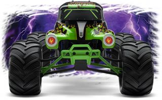 New Traxxas Monster Jam Grave Digger 1 16 Scale 2WD RTR 7202A