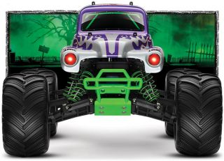 Traxxas 1 10 RTR Monster Jam Grave Digger 30th Anniversary w TQi and