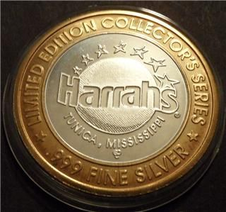 harrah s tunica genie in lamp limited gdc mint mark