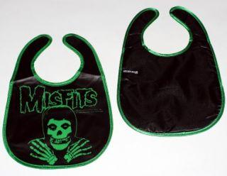 Misfits Punk Rock Skull Fiend Baby Infant Toddler Reversible Vinyl