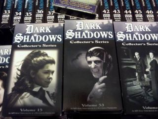 Dark Shadows Complete Series Plus Bonus 55 VHS Tapes