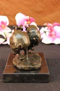 Hot Cast Hand Made Running Hare Hares Bronze Marble Sculpture Vienna