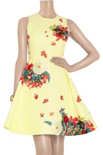 Erdem Mette embroidered cotton and silk faille dress   70% Off