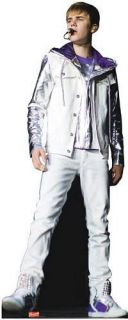 Brand new lifesize (510 tall) cutout of JUSTIN BIEBER. Can be