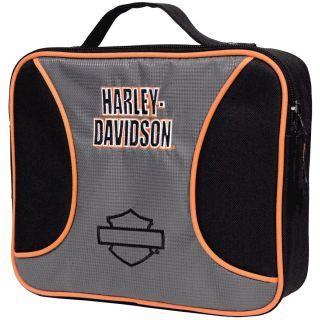 harley davidson canvas lunch box