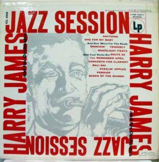 Harry James Jazz Session LP VG CL 669 Vinyl 1955 Record 6 Eye Jazz