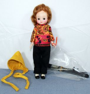Vintage 8 Betsy McCall Doll in RARE Ski Outfit American Character