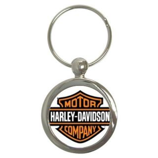Harley Davidson Custom Keychain Ring Motorcycle