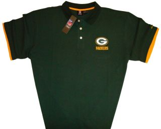 Green Bay Packers Mens Big & Tall NFL Sideline Casual Golf Polo Shirt