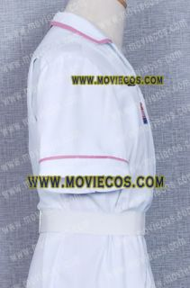 Batman Joker White Nurse Costume Uniform Coat Jacket Tailor Made Free