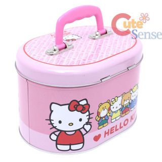 Sanrio Hello Kitty and Firends Tin Lunch Box Metal Jewelry Case