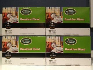 Breakfast Blend Light Roast Coffee 48 K cups By Green Mountain Co
