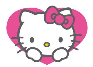 Hello Kitty Pink Flowr Flatback Deco DIY Kit Cabochon Resin