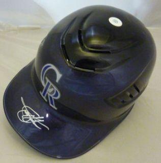 Todd Helton Autographed Signed Full Size Rawling Batting Helmet