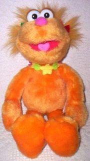 jim henson muppet zoe plush doll
