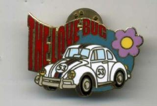 disney 2000 herbie the love bug pin le