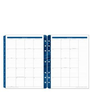 Two Page Monthly Calendar Tabs   Jan 2013   Dec Office Products