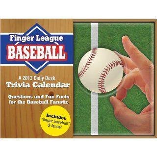 Finger Baseball 2013 Daily Box Desk Calendar Office
