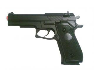 Ha 106B Black M9 M92F Beretta Pistol Spring Airsoft Gun