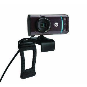 HP WebCam HD 3110 Notebook web camera pan / tilt NEW 720 P wAutofocus