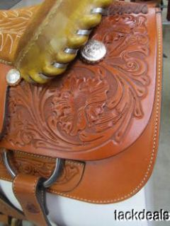 New Tex Tan Hereford Imperial RamRod Roping Saddle NEVER USED!!