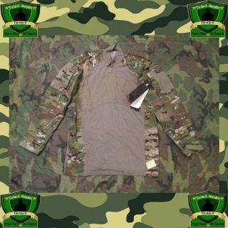 NWT Military Multicam Army Flame Resistant Combat Shirt Sz XXL Hunting