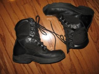 men s herman survivors commander blk boots sz 8 5