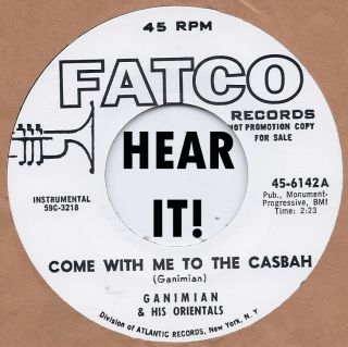 Rockabilly Ganimian Come to The Casbah Ganins Asia Minors Daddy Lolo