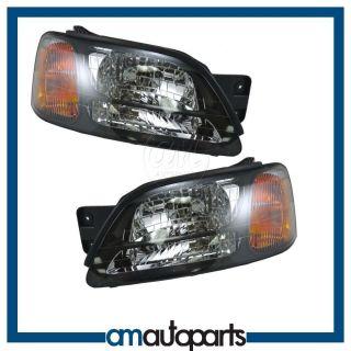 Subaru Legacy GT Baja Outback Headlights Headlamps Pair Set