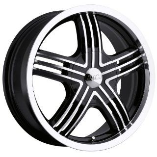 Milanni Stealth 16 Machined Black Wheel / Rim 4x100 & 4x4.25 with a