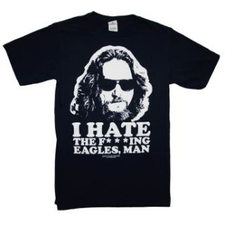 Lebowski I Hate The Eagles Man Funny Quote Movie T Shirt Tee