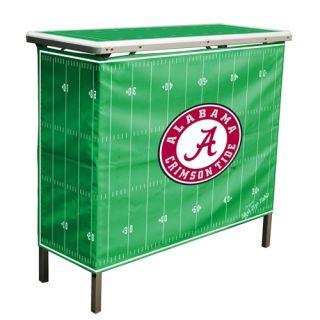 NCAA Alabama Crimson Tide High Top Table Portable Bar