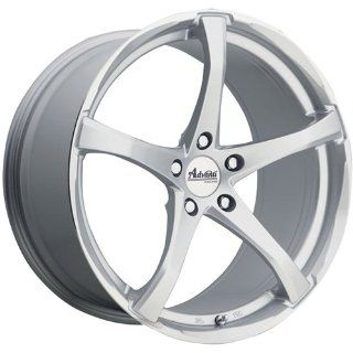 Advanti Racing Denaro 17x7 Silver Wheel / Rim 5x4.5 with a 42mm Offset