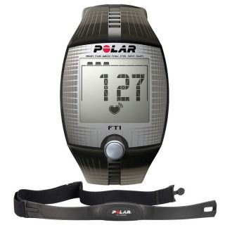 Polar FT1 Training Heart Rate Monitor Computer Sport Watch Black New