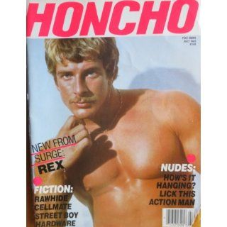 Honcho Magazine July 1985 (Volume 8, Number 4): George Mavety, Surge
